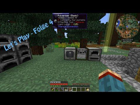 Modpack Let's Play - Folge 4 - Erste Maschinen