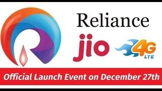 Aaj Tak live Hindi News Today of Reliance Jio Launch.
