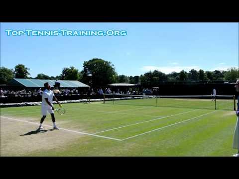 Michael Mmoh (Top US Junior) @ Wimbledon 2014