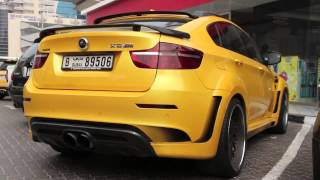 Hamann BMW X6 M   yellow all the way exterior & interior
