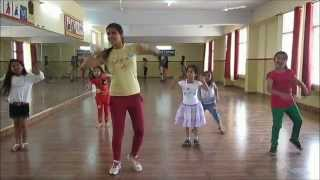 baby doll mai sone di dance steps for kids by rockstar academy chandigarh india