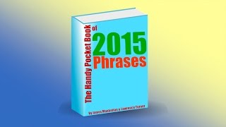 The Handy Pocket Book of 2015 Phrases