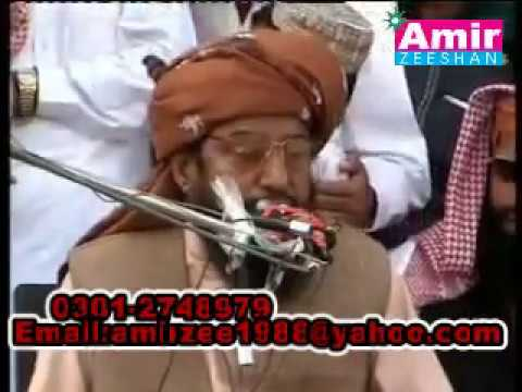 allama ahmad saeed khan HD khutba before death and famous bayan 2000