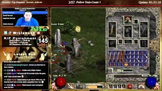 CLASSIC Diablo 2 (non-LOD) Amazon World Record! - 1:58:37