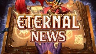 Eternal News - MAJOR NEWS DUMP: New Set, Balance Changes, Merch and more