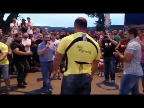 Giorgi Beroshvili Bench Press 270x2 Non Olympic Sports Festival 2015