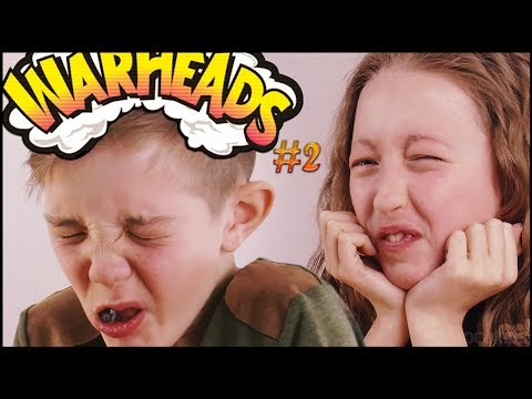 BRITISH KIDS Try Warheads #2 | ocUKids Challenge with Joseph, Bud, Alfie, Joab, Badger and Danella