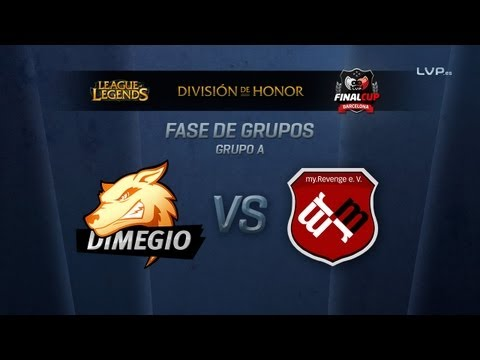 Dimegio MyRevenge (Grupo A) - League of Legends - Final Cup 4
