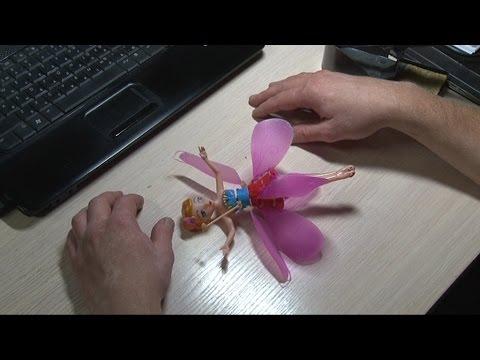 Ремонт куклы Летающая фея.