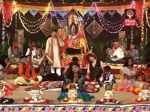 Hemant Chauhan-navdurga Na Zulna Mataji Na Dakla | Veradi Zulna video