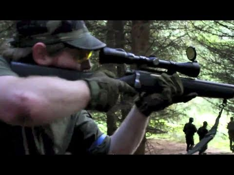 Airsoft War L96 Sniper Action Section8 Scotland HD