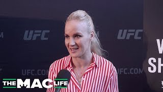 "Valentina Shevchenko unfazed by Jessica Eye's bulletproof vest: ""She has to take it off to fight"""