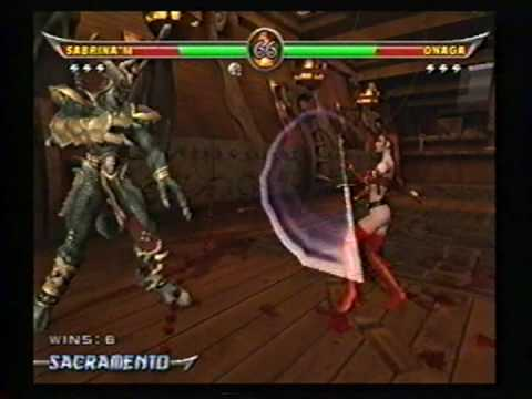 Sabrina Maree - Mortal Kombat Armageddon demo #1 Video