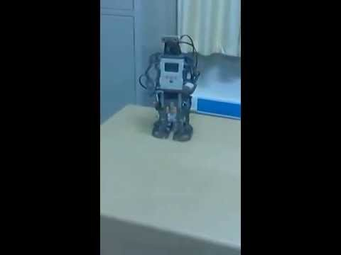 Humanoid Robot From LEGO Kit (MRA Lab IIT Ropar)
