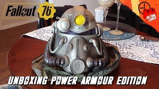 UNBOXING POWER ARMOUR EDITION | Fallout 76