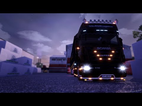 Euro Truck Simulator 2   Scania R2008 MultiMod 3.0   Tuning Pack. New Lights and More