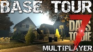 7 Days to Die Base Design tour - Multiplayer - Day 1000 +