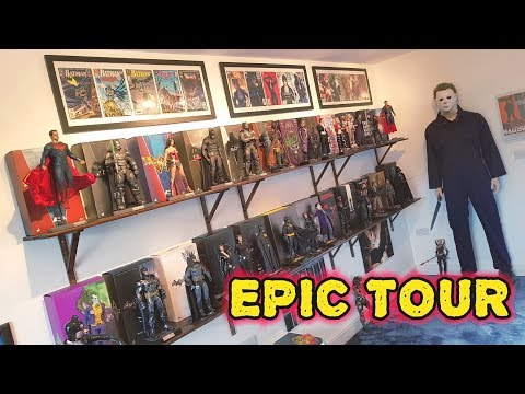 EPIC HOT TOYS FIGURE COLLECTION VIDEO TOUR
