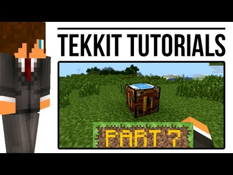 Tekkit Tutorial: Automatic Crafting Tables (BuildCraft)