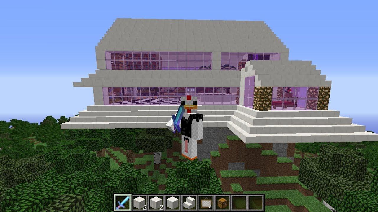 Descargar casa moderna para minecraft 1 7 2 2014 youtube for Casa moderna 1 11 2