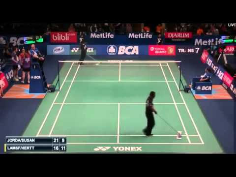 2015 BCA Indonesia Open R32 [XD] Praveen JORDAN-Debby SUSANTO vs Mark LAMSFUSS-Isabel HERTTRICH