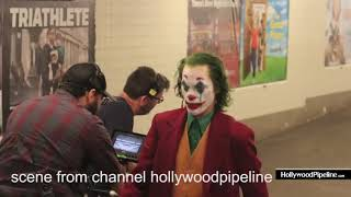 Joaquin phoenix all joker run scene combine