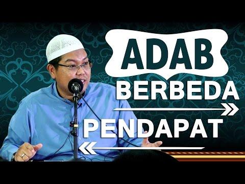 Adab Berbeda Pendapat - Ustadz Firanda Andirja, MA