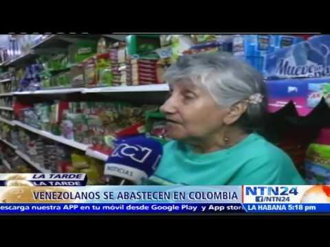 Azúcar, aceite, harina y antibióticos: los productos que más compraron los venezolanos en Cúcuta