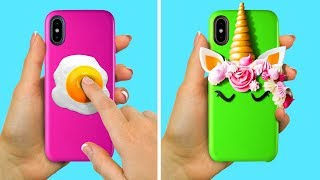 17 COOL PHONE CASE IDEAS TO MAKE YOUR DEVICE BRIGHTER