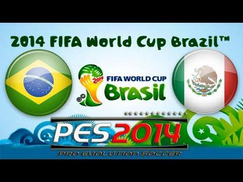 PES 2014 FIFA World Cup Brazil vs Mexico