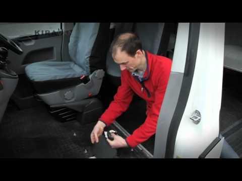 Kiravans Double Seat Swivel For Volkwagen Transporter Vw