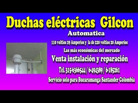 Duchas Eléctricas Gilcon en Bucaramanga - Tel 6-185261 / 315-6366544
