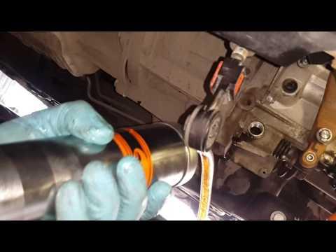 Видео как проверить масло в коробке Форд Фьюжн
