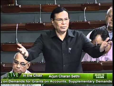 General Discussion on the Budget for 2012-13: Sh. Harin Pathak: 22.03.2012