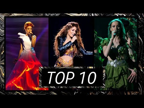 [TOP 10] MY FAVORITE EUROVISION SONGS EVER | 1956-2019