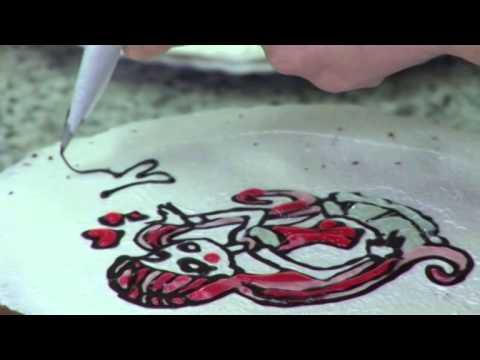 Trucos de cocina: Cómo hacer dibujos en tartas