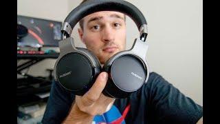 Ausdom ANC-8 Noise Cancelling Bluetooth Headphones Review