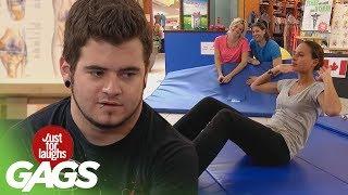 Workout Farts & Crazy Coach Pranks - JFL Gags Olympics Edition