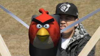 Real Life Angry Birds - Interactive 3D Animated Film