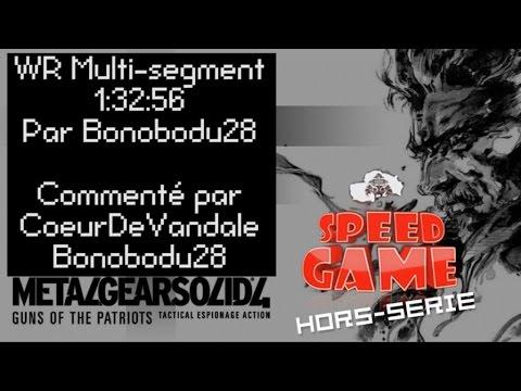 Metal Gear Solid 4-hors-série- Wr 1:32:56 En Multi Segment ! video