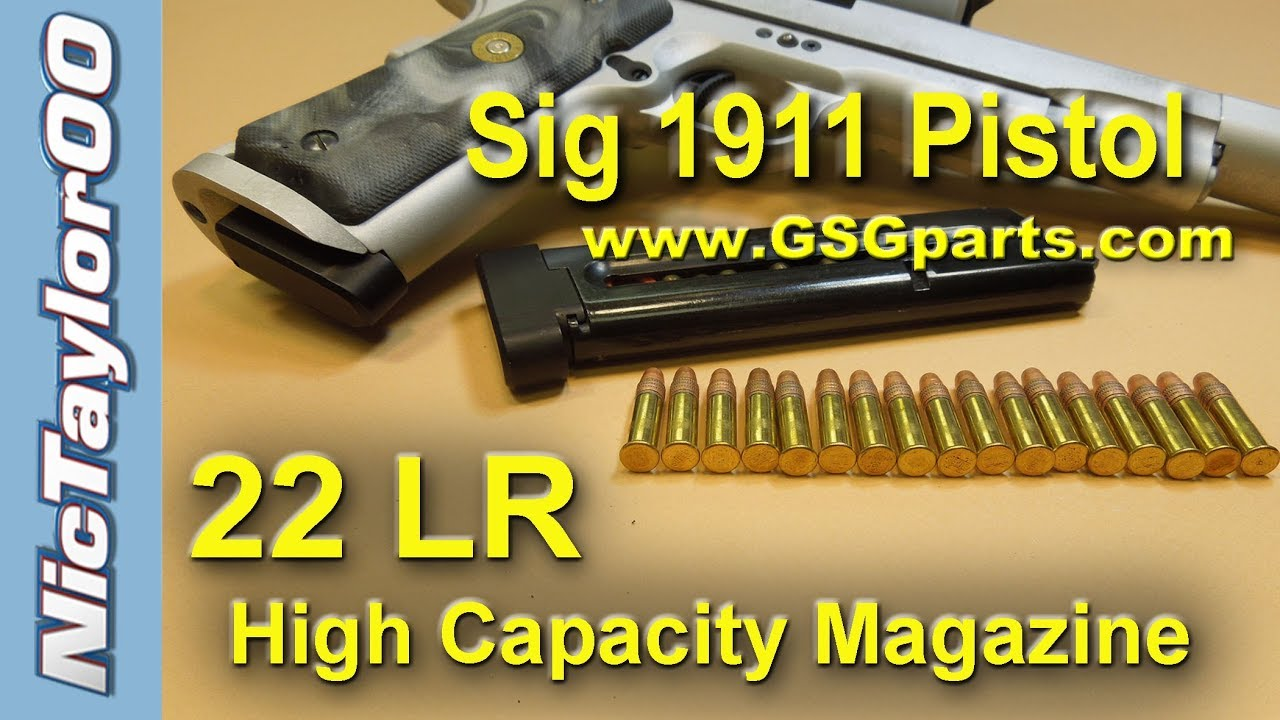 High Capacity 1911 1911 High Capacity Magazine