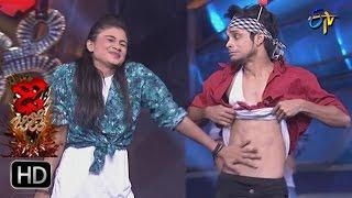 Pandu and Vindhya | Performance | Dhee Jodi | 22nd March 2017 | ETV Telugu