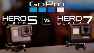 GoPro 5 vs GoPro 7: vale a pena trocar?