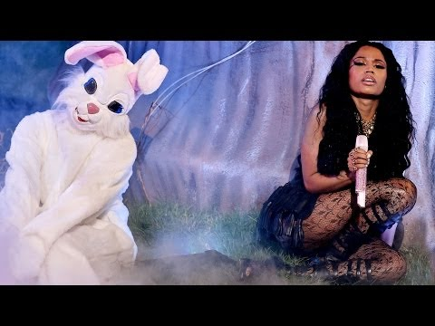 Nick Minaj Sexy Booty & Bunnies pills N Potions Performance At 2014 Bet Awards video