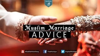 Muslim Marriage Advice