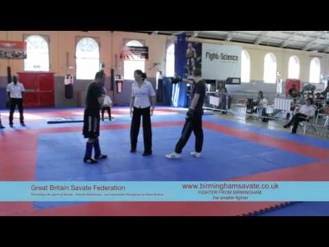 Fighter from Birmingham Savate C Image 1