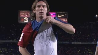 Lionel Messi vs Real Madrid 2007 ● The Rise of a Messiah ► Barcelona 3-3 Madrid | HD