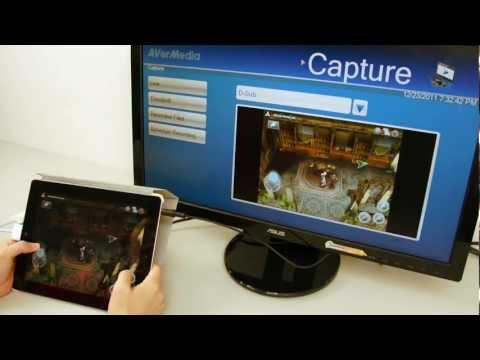 How to record gameplay from iPad 2 with Game Broadcaster HD