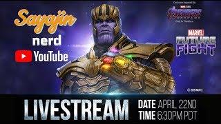 Marvel Future fight |  Live da live da NETMARBLE | ATT Endgame