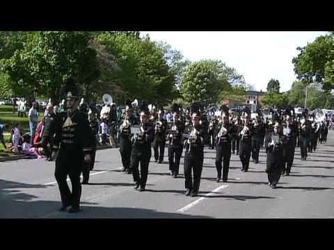 BCHS Bullock Creek High School 2009 Memorial Day Parade